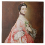 Mary Little, Later Lady Carr (oil on canvas) Tile