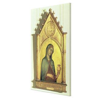 Mary Magdalen, c.1320 Canvas Print