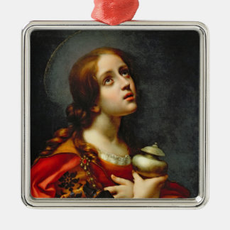 Mary Magdalene, 1660-70 (oil on canvas) Metal Ornament