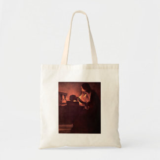 Mary Magdalene by Georges de La Tour Canvas Bags