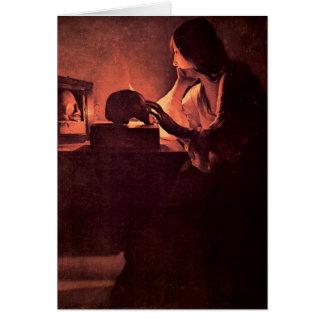 Mary Magdalene by Georges de La Tour Card