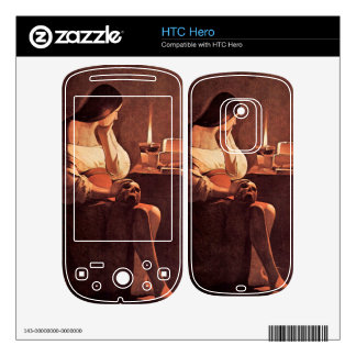 Mary Magdalene by Georges de La Tour HTC Hero Decal