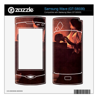 Mary Magdalene by Georges de La Tour Skins For Samsung Wave