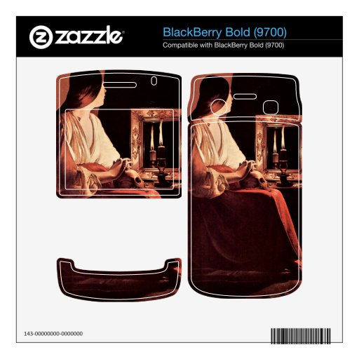 Mary Magdalene by Georges de La Tour Decal For BlackBerry Bold