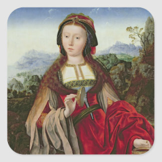 Mary Magdalene, c.1520-25 Square Sticker