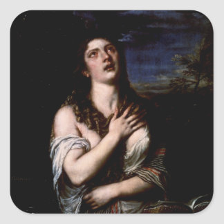 Mary Magdalene, c.1561 Square Sticker