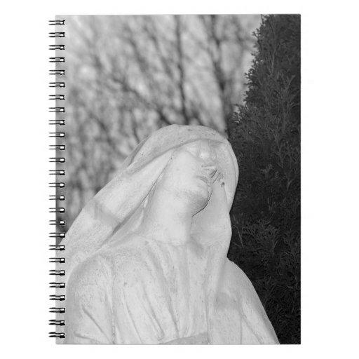 Mary Magdalene Cemetery Art Note Books
