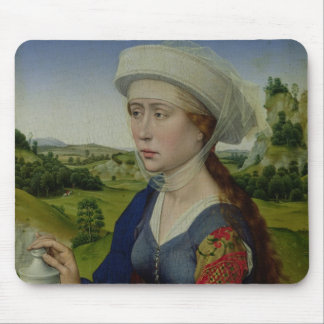 Mary Magdalene, from the right hand panel Mouse Pad