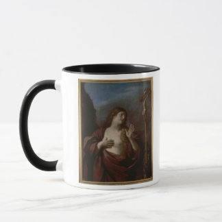 Mary Magdalene in Penitence (oil on canvas) 2 Mug