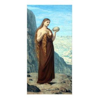 Mary Magdalene in the Desert by Puvis de Chavannes Card