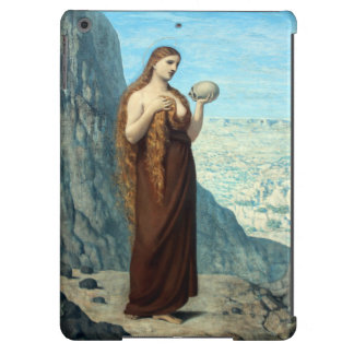 Mary Magdalene in the Desert by Puvis de Chavannes iPad Air Cases