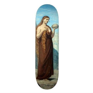 Mary Magdalene in the Desert by Puvis de Chavannes Skateboard