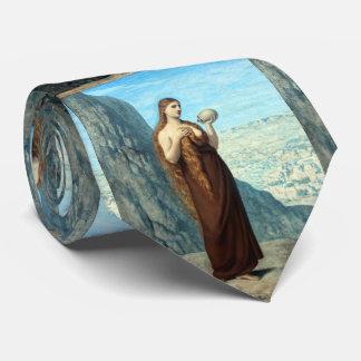Mary Magdalene in the Desert by Puvis de Chavannes Tie