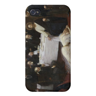 Mary Magdalene in the house of the Pharisee iPhone 4 Cases