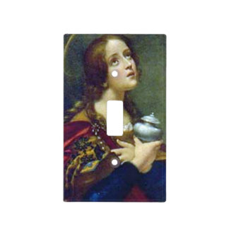 MARY MAGDALENE LIGHT SWITCH COVERS