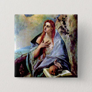 Mary Magdalene Pinback Button