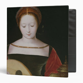 Mary Magdalene Playing a Lute Vinyl Binders