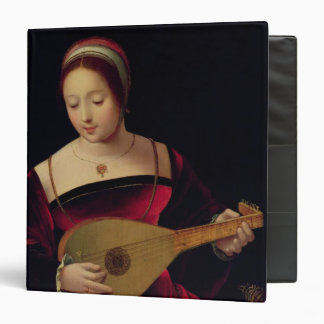 Mary Magdalene Playing the Lute Binder