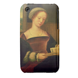 Mary Magdalene Reading (oil on panel) iPhone 3 Cover