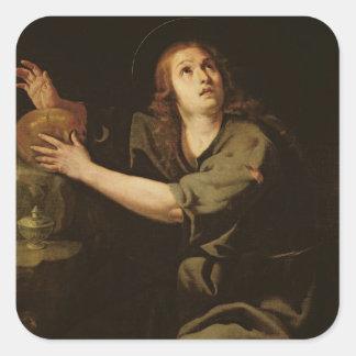 Mary Magdalene Square Sticker