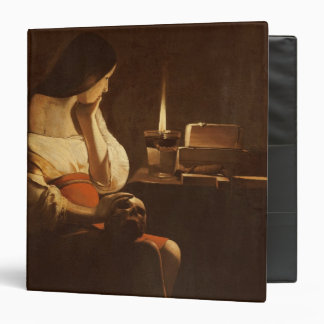 Mary Magdalene with a night light, 1630-35 3 Ring Binder