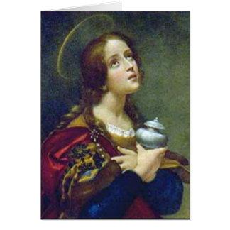 MARY MAGDELENE GREETING CARD