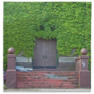 Mary Manse Doors- horizontal Napkin