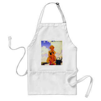 Mary, Mary, Quite Contrary... Adult Apron