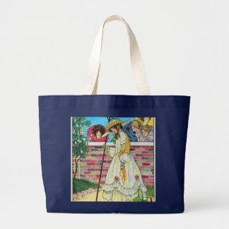 Mary, Mary, quite contrary Canvas Bag