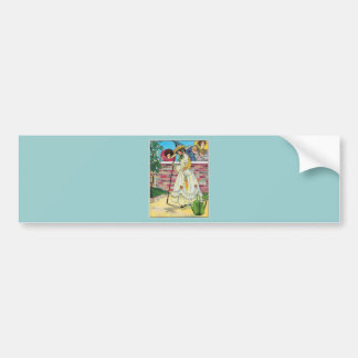 Mary, Mary, quite contrary Car Bumper Sticker