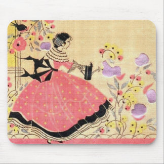 Mary, Mary, Quite Contrary Mouse Pad