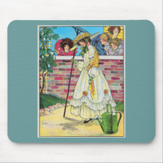 Mary, Mary, quite contrary Mousepad