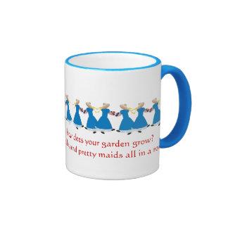 Mary, Mary, quite contrary -Nursery Rhyme Mug
