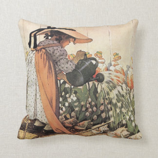 Mary, Mary, Quite Contrary Nursery Rhyme - Pillow