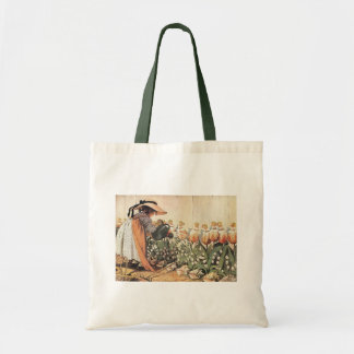 Mary, Mary, Quite Contrary Nursery Rhyme Tote Bag