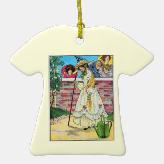 Mary Mary quite contrary Ornament
