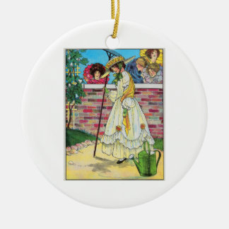 Mary Mary quite contrary Christmas Tree Ornament