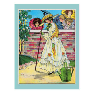 Mary, Mary, quite contrary Post Cards