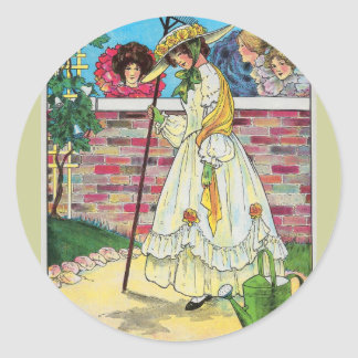 Mary, Mary, quite contrary Sticker