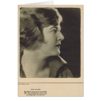 Mary McLaren by Melbourne Spurr 1922 Card