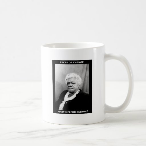 Mary McLeod Bethune Classic White Coffee Mug
