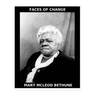 Mary McLeod Bethune Postcard