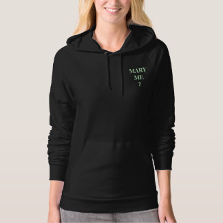 MARY ME? HOODIE T-SHIRT - IT'S CUSTOMIZABLE TOO!