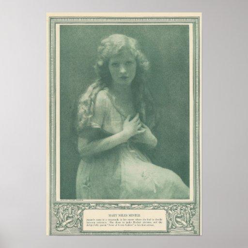 Mary Miles Minter Silent Star Print