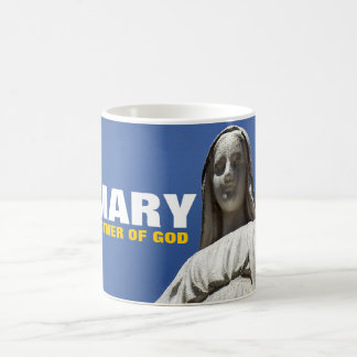 MARY MOTHER OF GOD CLASSIC WHITE COFFEE MUG