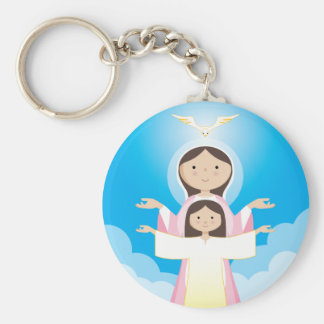 Mary Mother of God Keychain