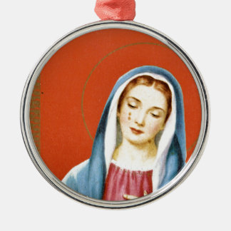 Mary, mother of Jesus Metal Ornament