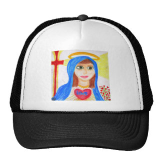 Mary, Mother of Love Trucker Hat