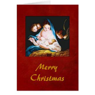 Mary n' Child Card