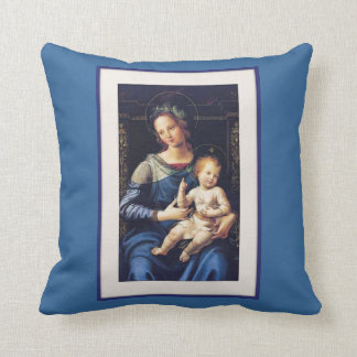 Mary n' Jesus Pillow